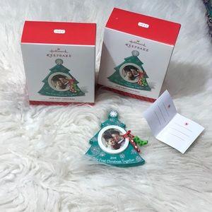 New in Box Hallmark 2014 First Christmas Ornament